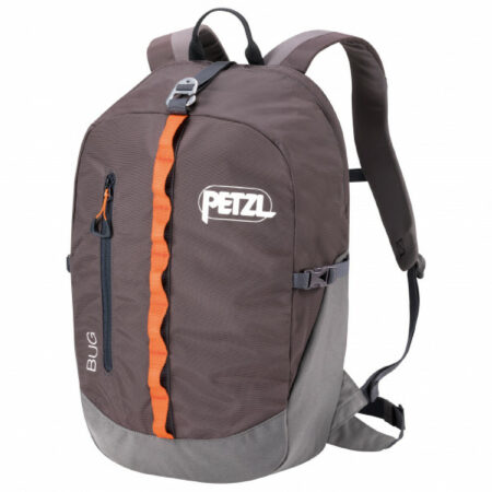 Afbeelding van Petzl - Bug Backpack - Klimrugzak maat 18 l, grijs/bruin