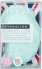 Tangle Teezer - Fine and Fragile Detangling Hairbrush - Hairbrush Mint Violet
