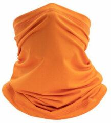 Geeek Mondbescherming Col Sjaal Bandana Hoofdband Spandex Fashion Sport UPF50 Oranje