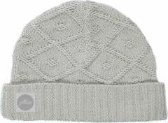 Jollein Diamond Knit - Muts - 40cm / vanaf 6 maanden - Grijs