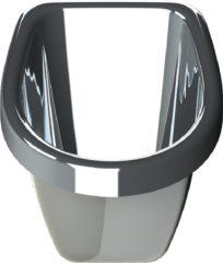 Zilveren Urinoir voor jongens, Jahgoo Weepot, Zilverkleur, Kunststof, Aanbieding!!!