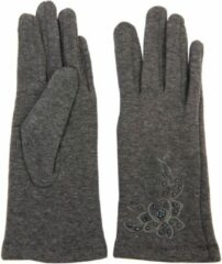 Juleeze Juleeze Unisex Handschoenen Grijs Maat One size