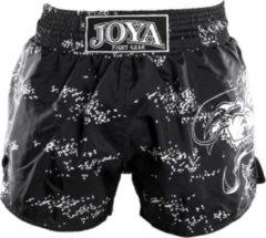 Joya Dragon Kickboks Broekje - Zwart - Wit-XS