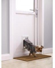 Witte PetSafe Petsafe huisdierenluik tot 7 kg aluminium wit 600
