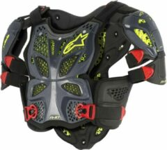 Alpinestars Body Protector A-10 Anthracite/Black/Red-XL/XXL