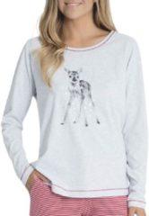 Langarm-Shirt Taubert soft grey melange