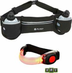 Rode XQ Max - running belt - hardloopriem - met 2 flesjes - inclusief - siliconen - hardloop LED verlichting - LED armband - hardloop verlichting