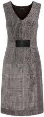 Kleid APART taupe-schwarz