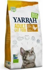 Yarrah cat biologische brokken kip kattenvoer 2,4 kg