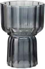 Blauwe Gusta® Gusta Kaars-/Theelichth. 10,5x15,5cm Bla