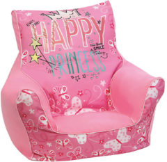 Mini-Sitzsack Princess Lilly, rosa