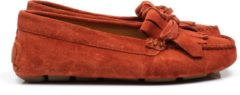 Emmen schoenen ESM 018 2793 Fringe Moccasin oranje, ,40 / 6.5