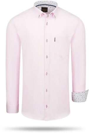 Afbeelding van Roze Cappuccino Italia Regular fit overhemd pink