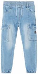 Blauwe Name it Name-it Jongens Jeans Bob Dnmtavids Cargo Noos - 80