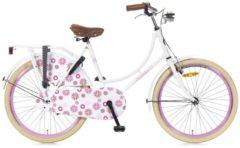 24 Zoll Popal Omafiets OM24 Mädchen Holland Fahrrad Popal weiß