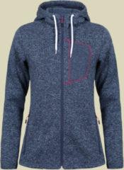 Icepeak Midlayer Jacket PARRI Women Damen Strickfleecejacke Größe 42 jeansblau/melange