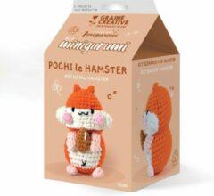 Graine Créative Graine Creative Amigurumi Haakpakket Hamster 10 cm
