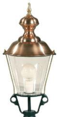 Ks Ronde, nostalgische lantaarn lamp 1409 - Berghuizen K4A Optie: Kap Ook In Kleur Kleur: Donkergroen - Outlet