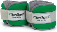 Thera-Band enkel & pols gewichtsmanchetten - groen