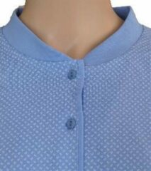 Blauwe Merkloos / Sans marque Lunatex Katoenen dames pyjama Bleu maat XL