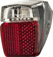 Herrmans Achterlicht H-trace Mini Dynamo Led 40 Mm Rood/wit