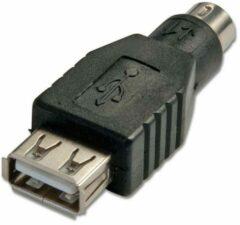 LINDY Toetsenbord/muis Adapter Zwart