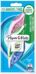 Transparante Merkloos / Sans marque Paper Mate - Correction Tape - Dryline Grip Bonuspack 2+1