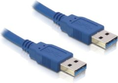 Blauwe USB naar USB kabel - USB3.0 - 5 meter