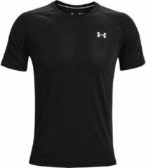 Zwarte Under Armour Streaker Short Sleeve Running Top - Hardloopshirts (korte mouwen)