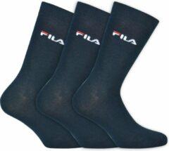 Blauwe Fila - Normal Socks 3-Pack - Unisex - maat 35-38