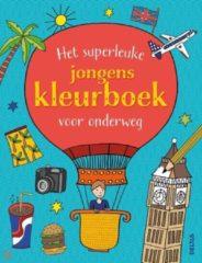 B.V. Centrale Uitgeverij Harderwijk Deltas Het Superleuke Jongenskleurboek Voor Onderweg