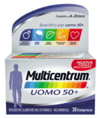 Multicentrum Uomo 50+ Integratore Multivitaminico Multiminerale 30 Compresse