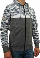 Loud and Clear BRUTAL Winter Hoodie Heren Limitless Grijs - Winter Vest Heren - Trui Heren - Sweater Heren - Met Rits - Met capuchon - Maat L