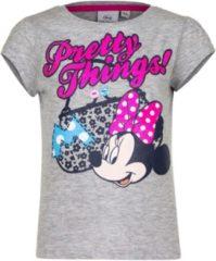 Disney Minnie Mouse t-shirt grijs voor meisjes 116