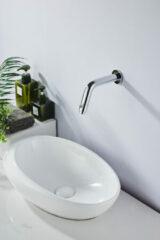 Saniclear Talpa inbouw toiletkraan chroom