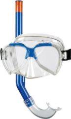 BECO kinder snorkelsetje Ari - Blauw - 4+ jaar