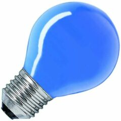 Huismerk gloeilamp Kogellamp blauw 25W grote fitting grote fitting E27