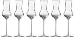 Grappa-Edelobstbrand Glas 6er-Set Enoteca Zwiesel 1872 Transparent