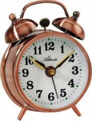 Bronze Mechanischer Doppelglocken-Wekker Atlanta - 1068-18
