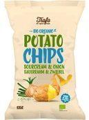 Trafo Chips sour cream & onion 125 Gram