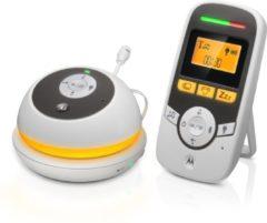 Witte Motorola MBP169 babyfoon - draagbaar - nachtlampje - terugspreekfunctie - ruim bereik - timer