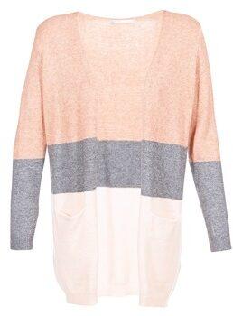 Afbeelding van Roze ONLY vest met strepen