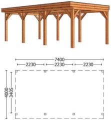 Trendhout | Buitenverblijf Mensa L 7400 mm | Combinatie 6