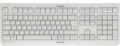 CHERRY KC 1000 Toetsenbord QWERTY, Engels Grijs USB-aansluiting