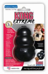 Zwarte Kong Extreme Medium - Kauwspeelgoed - 81 mm x 55 mm x 60 mm - Zwart