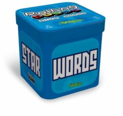 CreativaMente Rolling Cubes Star words 7 x 7 x 7 cm reisspel