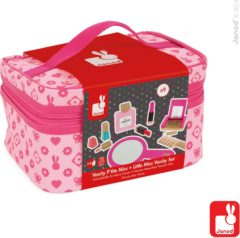 Roze Mertex Trading Janod beautycase met make up