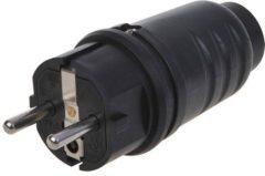 ProPlus Schuko stekker 16A zwart
