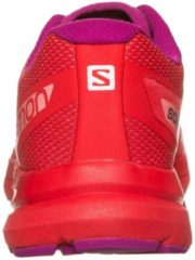 Sonic Pro Laufschuh Damen Salomon poppy red / rose violet / living coral
