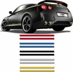 Universeel Universele zelfklevende striping AutoStripe Cool270 - Zilver - 2+2mm x 975cm